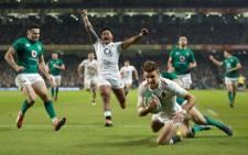 England beat Ireland 32-20. Picture: Twitter.