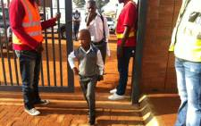 Pupils arrive for the first day of school at the Chief Albert Luthuli Primary School in Daveyton. Picture: Kgothatso Mogale/EWN.