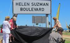 The Western Boulevard was officially renamed after Helen Suzman in 2011. Picture: Aletta Gardner/EWN
