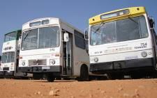 FILE: Bus services will come to a standstill tomorrow. Picture: Taurai Maduna/EWN