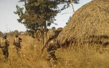 FILE: Nigerian army destroy Boko Haram terrorists camps in Alagarno and Sambas forests. Picture: Colonel Sani Kukasheka Usman/Nigerian army public relations