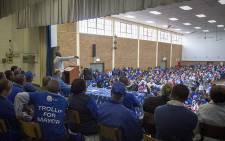 FILE: DA leader Mmusi Maimane addresses party supporters in Bethelsdorp, Port Elizabeth, as politicians campaign on 24 June 2016. Picture: Aletta Harrison/EWN.