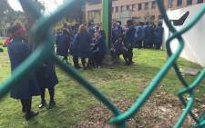 Learners at Sans Souci Girls High. Picture: Monique Mortlock/EWN.