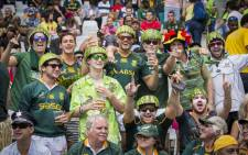 FILE: Fans enjoy the atmosphere at Cape Town Stadium on the inaugural Cape Town Sevens tournament on 12 December 2015. Picture: Aletta Harrison/EWN.