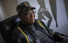 FILE: Umkhonto weSizwe Military Veterans' Association president Kebby Maphatsoe. Picture: Abigail Javier/Eyewitness News