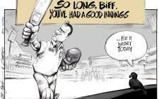 A Good Innings by Biff