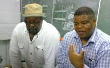 FILE: State security minister David Mahlobo addresses people in Malamulele in Limpopo on 04 February 2015. Picture: EWN.