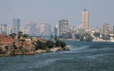 A picture shows a part of the River Nile in the Egyptian Capital Cairo on 7 March 2019. Picture: AFP.
