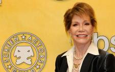 US Actress Mary Tyler Moore. Picture: AFP