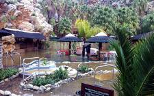 The damage caused to Montagu Springs Resort in the Western Cape after the Keisie River burst its banks. Picture: Rafiq Wagiet/EWN