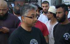 London community activist speakout about van ramming attack. PIcture: screengrab/CNN