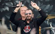 Musician Ringo Starr performs onstage during John Varvatos International Day of Peace Celebration with a special performance by Ringo Starr & His All Starr Band at the John Varvatos Boutique on 21 September, 2014 in West Hollywood, California. Picture: AFP.