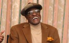 This file photo taken on February 06, 2008 shows US singer Billy Paul speaking during a Pre-GRAMMY Party at the Four Seasons Hotel in Beverly Hills, California. Picture: AFP.
