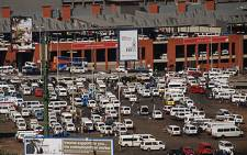 Bree taxi rank in Johannesburg. Picture: Taurai Maduna/Eyewitness News