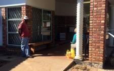 A polling station in Vuwani. Picture: Masa Kekana/EWN.