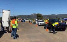 The festive season road safety campaign was launched at the Huguenot Tunnel on 5 December 2019 where traffic volumes are starting to pick up. Shamiela Fisher/EWN.