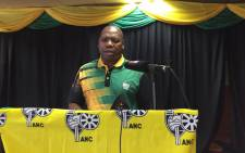 ANC presidential hopeful Zweli Mkhize at the party's Soweto gathering just days before the party's national conference. Picture: Pelane Phakgadi/EWN