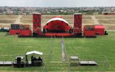 The EFF will launch its manifesto at the Giant Stadium in Soshanguve in run up to the Elections 2019. Picture: Twitter @ewnreporter