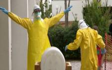 In Alabama the CDC is training health care workers to fight the Ebola epidemic in West Africa. Picture: CNN.