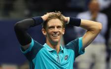 FILE: Kevin Anderson of South Africa celebrates after defeating Pablo Carreno Busta of Spain in their Men's Singles Semifinal match on Day Twelve during the 2017 US Open at the USTA Billie Jean King National Tennis Center on 8 September 2017 in the Queens borough of New York City. Picture: AFP.