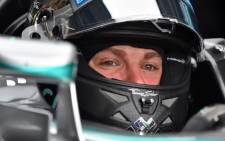 FILE: German driver Nico Rosberg. Picture: AFP.