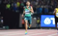 FILE: Wayde van Niekerk in action at the 2017 IAAF World Championships in London. Picture: AFP