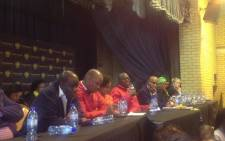 Parliament's Constitutional Review Committee is in Gauteng this week at the Westonaria Civic Centre. Picture: Twitter/@vumelana