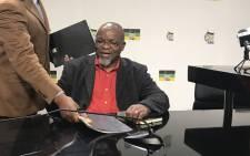 FILE: ANC secretary general Gwede Mantashe. Picture: Kgothatso Mogale/EWN