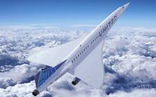 A rendering of the 'Overture' planes from Boom Supersonic. Picture: @boomaero/Twitter
