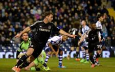 Chelsea's Branislav Ivanovic celebrates his goal after scoring against West Bromwich Albion during the English Premier League on 11 February 2014. Picture: Facebook.