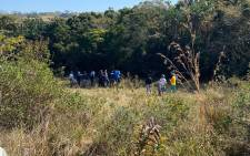 Port Shepstone police and various search and rescue units search the uMthwalume area on KwaZulu-Natal's south coast on 11 August 2020 after Hibberdene police were informed about a body that was found by locals. Another body was found on 12 August 2020. Picture: @SAPoliceService/Twitter