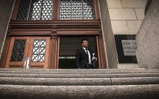 Shrien Dewani's brother, Preyen Dewan, leaving the Western Cape High Court after his brother's murder trial on 30 October 2014. Picture: Thomas Holder/EWN.