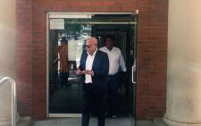 FILE: Tony Yengeni leaves the Cape Town Magistrates Court. Picture: Xolani Koyana/EWN.
