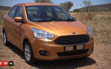 Ford follows industry trends by unveiling the new the Figo in the form of a sedan.Picture: Kgothatso Mogale/EWN