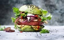Nestle's Garden Gourmet burger. Picture: @Nestle/Twitter
