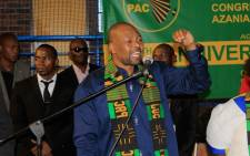 Pan Africanist Congress (PAC) leader Narius Moloto. Picture: @k_narius/Twitter.