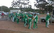 A minstrel group showing off its skills at the Cape Town Stadium. Picture: Lindiwe Mlandu/EWN