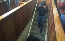 The Krugersdorp Magistrate Court has denied bail to three officers accused of murdering a suspect on 13 November 2015. Picture: Masa Kekana/EWN.