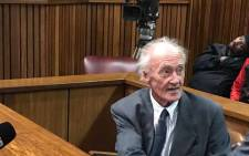 Former security branch policeman Neville Els testifies in the second Ahmed Timol inquest on 31 July, 2017. Picture: Barry Bateman/EWN