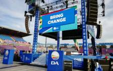 It's all systems go for the DA's elections manifesto launch. Picture: Twitter @Our_DA.