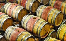 FILE: A general view of wine barrels at Groot Constantia. Picture: Pixabay.com