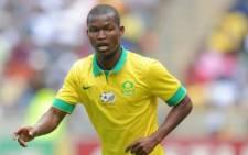 Bafana Bafana Midfielder Mandla Masanago. Picture: Twitter @Real_Mandande.