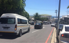 Traffic is back up on Victoria Rd and Geneva Dr with people trying to get to the beach. Picture: Masa Kekana/EWN.