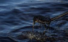 FILE: An oil spill. Picture: AFP