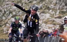 MTN-Qhubeka's Steven Cummings won Stage 14 at the Tour De France, on 18 July 2015. Picture: Twitter @StevoCummings