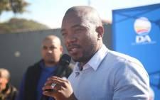 FILE: Democratic Alliance (DA) leader Mmusi Maimane. Picture: Bertram Malgas/EWN