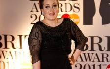 British singer Adele. Picture: AFP