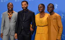 Author William Kamkwamba, director and screenwriter Chiwetel Ejiofor, actress Aissa Maiga and actor Maxwell Simba pose for photographers during a photocall for the film 'The Boy Who Harnessed the Wind' at the 69th Berlinale film festival on 12 February 2019 in Berlin. Picture: AFP.