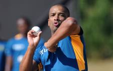 Vernon Philander injured himself in training, rolling over his left ankle. Picture: CSA official Facebook page.