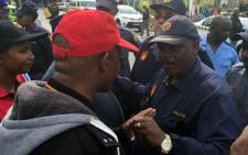 Samwu members disrupt interrupts launch of long-awaited Metro Police service in Nelson Mandela Bay on Friday 13 May 2016. Picture: Siyabonga Seant/EWN.
